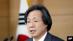 جنوبی کوریا کے امراض سے کنٹرول اور بچاؤ کے ڈائریکٹر جنگ کی سک