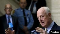 Posrednik UN-a za sirijske pregovore Stafan de Mistura