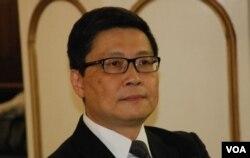 佔中運動發起人之一、中文大學教授陳建民