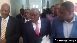 MDC lawyers in court ...