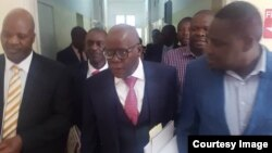 MDC awyers in court ...