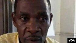 Umkhokheli webandla lePeople's Democratic Union, uMnu. Christopher Sibindi.