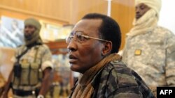 Chadian President Idriss Déby Itno, who has been in power for 30 years, died on April 20, 2021 from injuries sustained while fighting against rebels. (Photo by Pascal GUYOT / AFP)