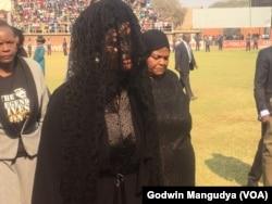 Zimbabwe Former First Lady at Rufaro Stadium