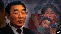 中国西藏自治区原党委书记张庆黎