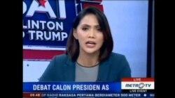 Laporan Langsung VOA untuk MetroTV: Pasca Debat Presidensial AS Pertama