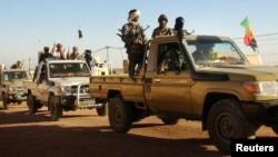 Soldados Tuaregue do MNLA