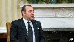 Le roi Mohammed VI du Maroc, 22 novembre 2013.