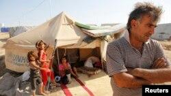 Sirijske izbeglice u kampu na severu Iraka