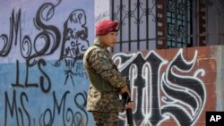 Las autoridades salvadoreñas estiman que hay alrededor de 67.000 pandilleros en el país.