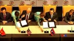 2015-11-22 美國之音視頻新聞: 東盟十國簽署吉隆坡宣言