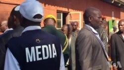Mnangagwa At Polling Station