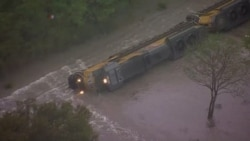 Remnants of Hurricane Patricia Causing Flooding in Texas