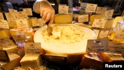 Магазин сыров в Санкт-Петербурге.7 августа 2014 г.