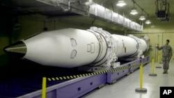 美国研发的截击导弹(资料照片)