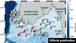 Irrawaddy Sediments (Photo credit- ScienceDirect.com)