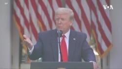 特朗普總統: 新冠疫情損失數額巨大 有很多方式讓中國承擔責任