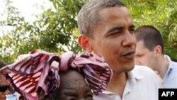 Президент США Барак Обама та його бабуся Сара