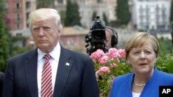 美国总统川普将在20国集团峰会前会见德国总理默克尔