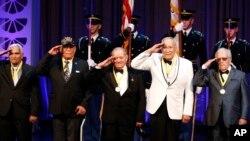 Reconocimiento al 65 Regimiento de Infantería del ejército estadounidense integrado por puertorriqueños.