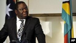 Prime Minister Morgan Tsvangirai