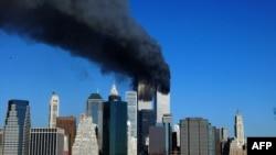 Bayan da aka kai hari kan tagwayen benayen World Trade Center a New York a 2001 (AFP)