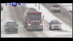 Tuyết rơi kỷ lục tại thành phố Boston, Mỹ (VOA60)