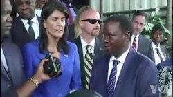 Nikki Haley demande des élections en 2018 en RDC (vidéo)