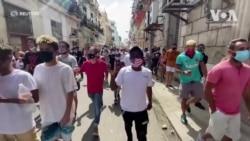 Антиурядові протести на Кубі - які причини й що про це думають кубинці в Україні? Відео