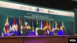 Asanble Jeneral OEA nan Cancun, Meksik