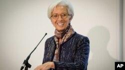 国际货币基金组织总裁拉加德