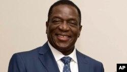 Emmerson Mnangagwa, sabon shugaban Zimbabwe mai jiran gado da za'a rantsar gobe Juma'a