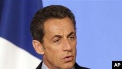 法国总统萨科奇(资料照片)