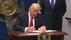 وزارت خارجه آمریکا: درپی فرمان اجرایی ترامپ کمتر از ۶۰ هزار ویزا باطل شد