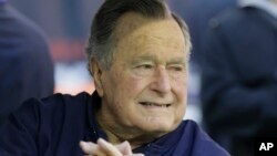 Expresidente George H. W. Bush.