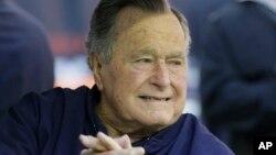 조지 H.W. 부시 전 미 대통령. (자료사진)