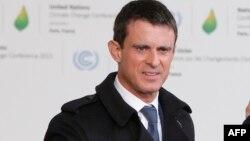 Manuel Valls, Le Bourget, 30 novembre 2015