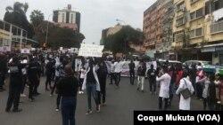 Manifestação em Luanda contra violência policial, Luanda