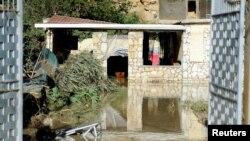 Kuća blizu Palerma u kojoj je poginulo devet osoba, posle izlivanja reke Milića ( Foto: REUTERS/Guglielmo Mangiapane)