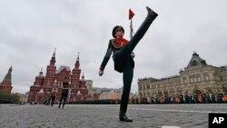 莫斯科红场的卫兵。