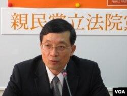 亲民党立委李桐豪 (美国之音张永泰拍摄)