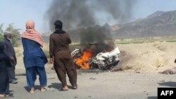موټروان محمد اعظم نومېده چې له ملا منصور سره یو ځای د پاکستان د بلوچستان د نوشکې په سیمه کې ووژل شو