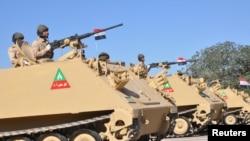 Quang cảnh lễ duyệt binh của Iraq hôm 10/12.