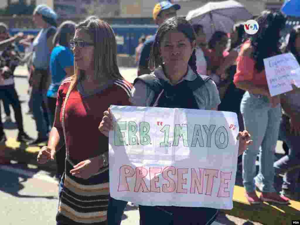 La Federación Venezolana de Maestros llamó el pasado 14 de octubre a una nueva movilización.