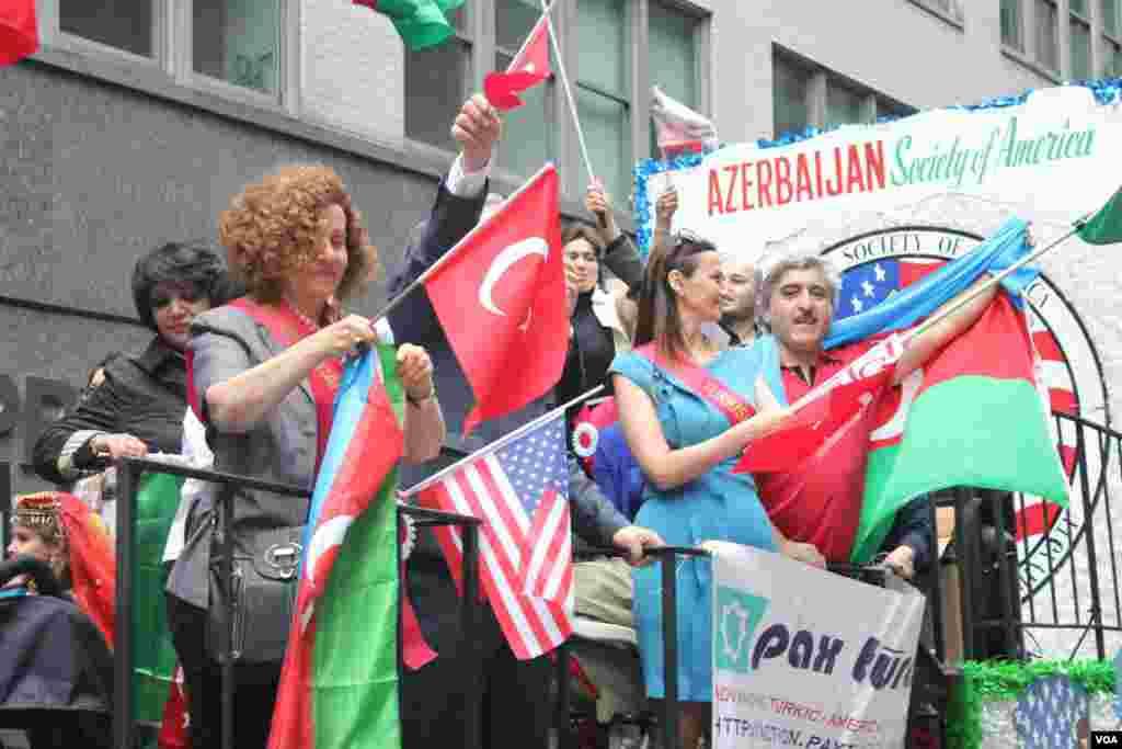 Nyu-Yorkda 32-ci Türk Yürüşündə Azərbaycan stendi