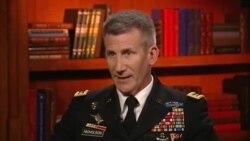 جنرال جان نیکلسن، فرمانده عمومی مأموریت حمایت قاطع