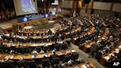 테헤란에서 열린 `비핵화 콘퍼런스' (자료사진)