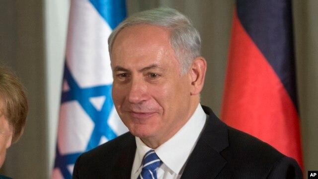 Israeli Prime Minister Benjamin Netanyahu at the prime minister's residence in Jerusalem, Feb. 24, 2014.