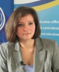 Олена Карбу, генеральна директорка Офісу зв'язку українських аналітичних центрів у Брюсселі