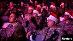 Рождество в войсках НАТО
